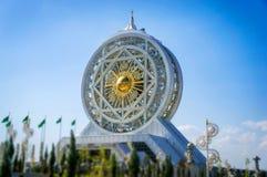 Ruota di ferris più alta di World's di rivestito di marmo bianco al centro di spettacolo e di Alem Cultural Immagini Stock