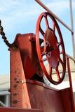Ruota di freno del Caboose Fotografie Stock