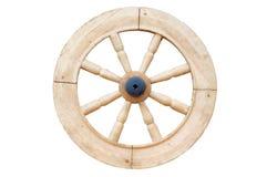 Ruota di legno Immagini Stock