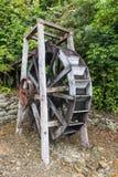 Ruota di legno ristabilita di mulino a acqua Immagine Stock
