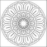 Ruota di loto Illustrazione Vettoriale