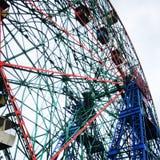 Ruota di meraviglia di Coney Island fotografia stock
