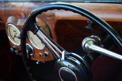 Ruota di retro automobile fotografia stock libera da diritti