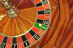 Ruota di roulette fotografia stock