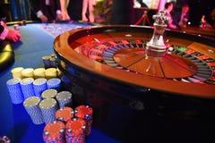 Ruota di roulette che gioca Immagini Stock Libere da Diritti