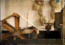 Ruota di seta - annata Fotografia Stock Libera da Diritti