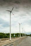 Ruota di vento. Immagini Stock