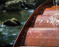 Ruota idraulica ad ovest di Virgina immagini stock