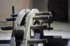 Ruota idraulica antica Immagini Stock Libere da Diritti