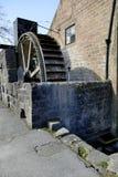 Ruota idraulica del mulino Immagine Stock