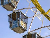 Ruota panoramica al Oktoberfest, Monaco di Baviera, Germania immagine stock libera da diritti