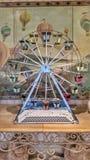 Ruota panoramica d'annata del giocattolo Fotografie Stock Libere da Diritti