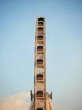 Ruota panoramica dal lato Fotografie Stock Libere da Diritti