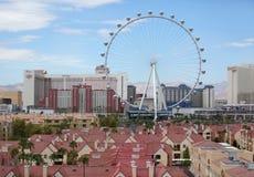 Ruota panoramica del dissoluto di Linq a Las Vegas Immagini Stock Libere da Diritti