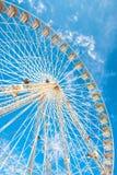 Ruota panoramica della fiera e del parco di divertimenti Fotografia Stock Libera da Diritti