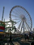 Ruota panoramica @ Hyde Park Winter Wonder Land Fotografia Stock