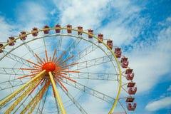 Ruota panoramica, ruota di osservazione, grande ruota Fotografia Stock