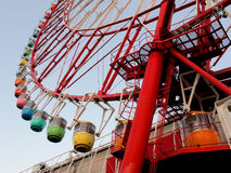 Ruota panoramica a Tokyo Fotografia Stock