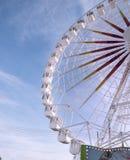 Ruota panoramica in un parco pubblico Fotografia Stock Libera da Diritti
