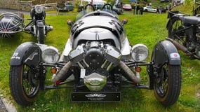 Ruota tre che corre motociclo, BMW fotografie stock