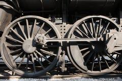 Ruote del motore a vapore Immagini Stock