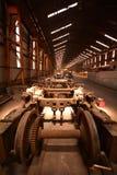Ruote del treno Fotografia Stock Libera da Diritti