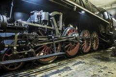 Ruote della ferrovia Fotografia Stock