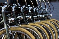 Ruote di Bycycle Fotografia Stock Libera da Diritti