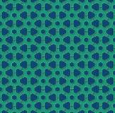 Ruote di ingranaggio di verde smeraldo e del blu Fotografia Stock