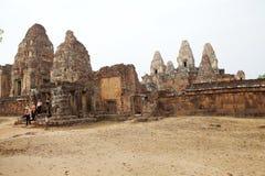 Rup前寺庙废墟 免版税图库摄影