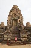 Rup前寺庙废墟 免版税库存图片