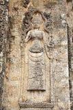 Rup前寺庙废墟 库存图片