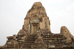 Rup前寺庙废墟 库存照片