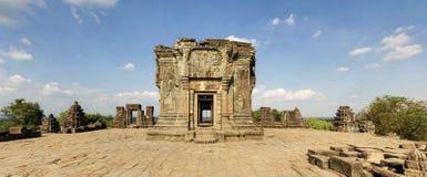 前Rup寺庙,吴哥窟,柬埔寨 库存照片