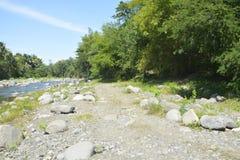 Ruparan riverbank που βρίσκεται σε barangay Ruparan, πόλη Digos, Davao del Sur, Φιλιππίνες στοκ εικόνα με δικαίωμα ελεύθερης χρήσης