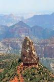 Rupe rocciose sull'orlo del nord di Grand Canyon, Arizona Fotografie Stock