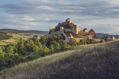 Rupea堡垒,罗马尼亚 库存图片