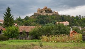 Rupea Castle near Brasov Romania Stock Image