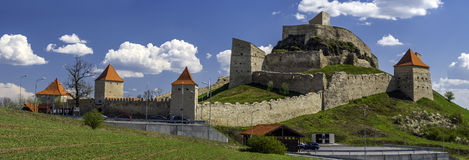 Rupea citadel in transylvania Romania Royalty Free Stock Photos