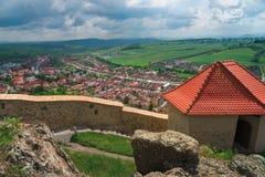 Rupea citadell i Rumänien Fotografering för Bildbyråer