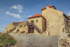 Rupea citadell, Rumänien Royaltyfria Bilder