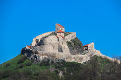 Rupea cytadela - Cetatea Rupea Obraz Stock