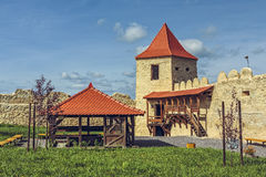 Rupea cytadela, Rumunia fotografia stock