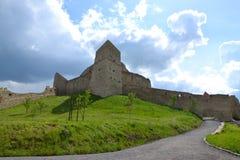 Rupea fästning i Transylvania, Rumänien Royaltyfri Fotografi