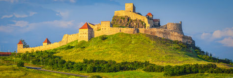 Rupea fästning, Transylvania Arkivbilder