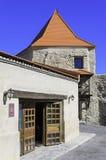 Rupea fästning (transylvania Rumänien) Fotografering för Bildbyråer