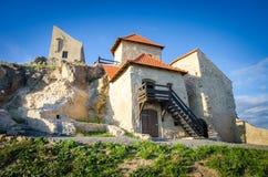 Rupea forteca w Transylvania regionie Rumunia Zdjęcia Royalty Free