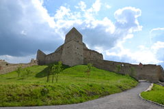 Rupea forteca w Transylvania, Rumunia Fotografia Royalty Free