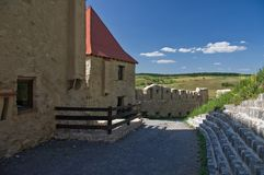 Rupea Fortress. (Brasov County, Transylvania, Romania). Mentioned in documents for the first time in 1324 AD Stock Images
