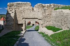 Rupea Fortress Royalty Free Stock Image
